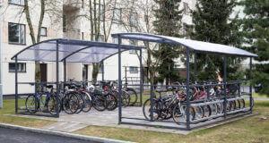 Парковка для велосипедов крытая, купить в Минске